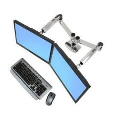 Ergotron Desk Mount LX Dual Side-By-Side Arm