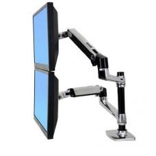 Ergotron Desk Mount LX Dual Stacking Arm