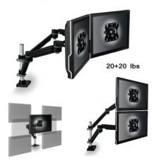 3M Easy-adjust Monitor Dual Arm