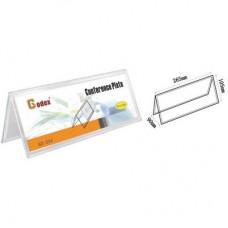 Godex Double Side Card Stand(V Shape)