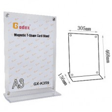 Godex Magnetic T-Shape Card stand