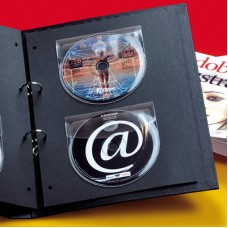Self-Ad CD-Rom Pocket with flap
