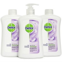 Dettol Antibacterial Sensitve Liquid Hand wash + 2 Refill Set