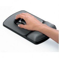 Fellowes Microban Gel Wrist Rest & Mouse Pad