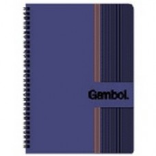 Gambol Double Spring Note Book (PP Cover)