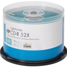 HP CD-R Spindle 700MB 80min 52x 25s
