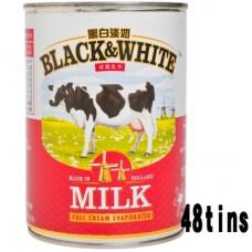 B & W Evaporated Milk