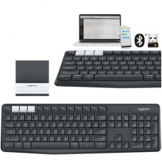 Logitech® Multi-device Wireless Keyboard and Stand Combo