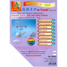 A-Tech Inkjet Film Label